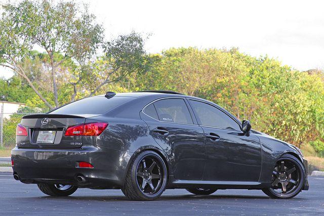 Gray Lexus IS250