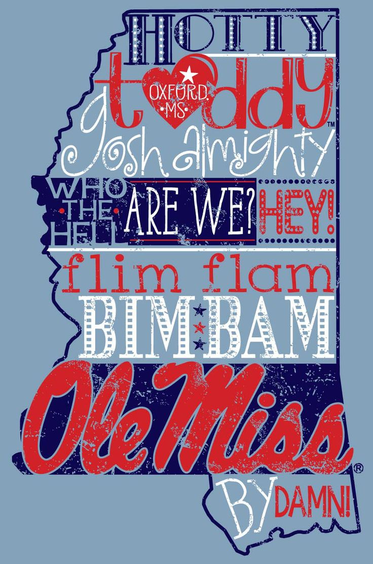 Hotty Toddy, Gosh Almighty 100% cotton tee