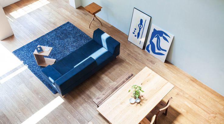 リビングとダイニングのパーテーションに適したソファ - PIVO ピヴォ | ソファ専門店FLANNEL SOFA