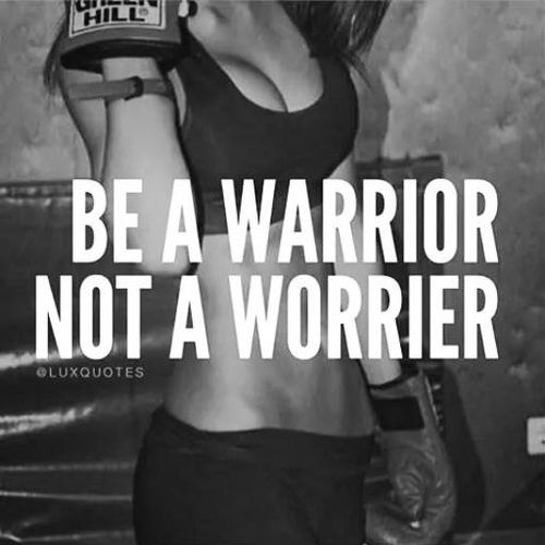 Be a warrior forever ✿