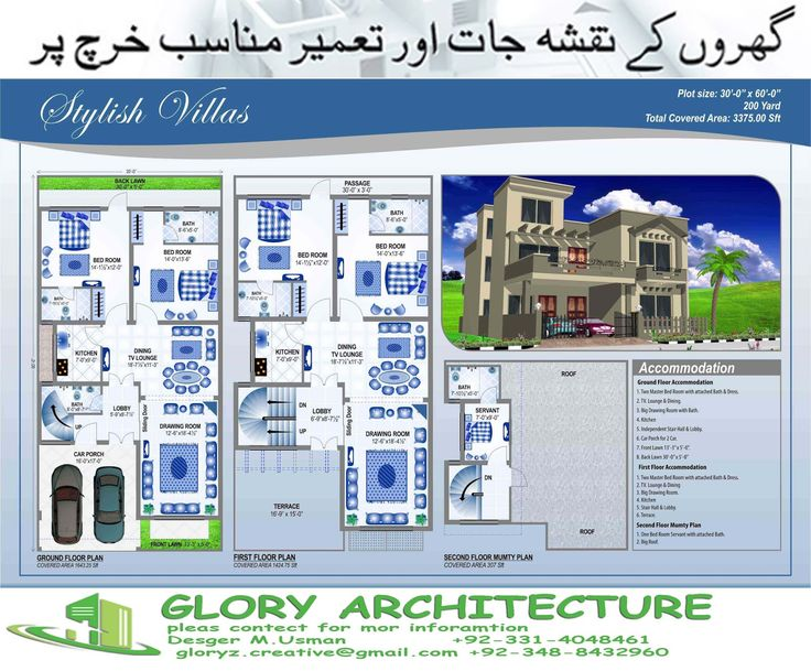 House Plan For 20 Feet By 40 Feet Plot Plot Size 89 Square Yards 37 Best House Elevation 3d Elevation 3d Home View Images
