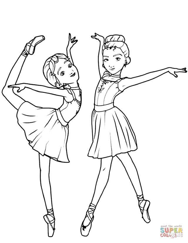 36++ Supercoloring ballerina ideas in 2021