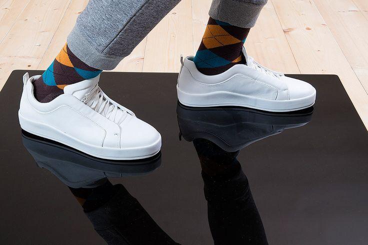 Barevné ponožky SocksInBox Argyle (detail)