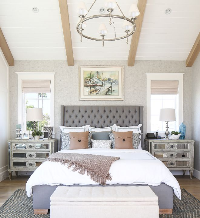 California Beach House with Modern Coastal Interiors  Home Bunch   An  Interior Design   Luxury Homes Blog   Bedroom OrangeWhite. Best 25  Modern coastal ideas on Pinterest   Coastal inspired