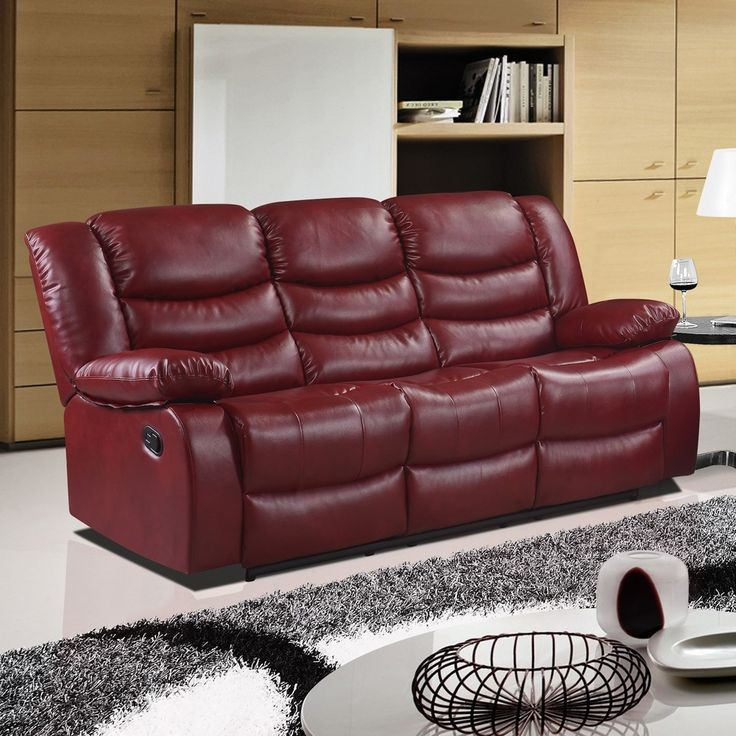 Best 25 Red leather sofas ideas
