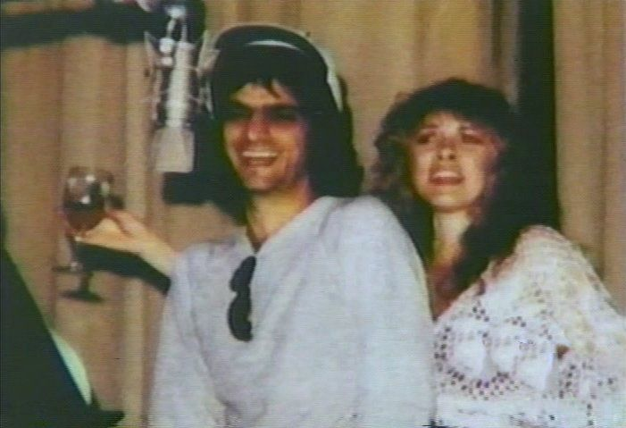 happy times for Jimmy Iovine and Stevie ~ ☆♥❤♥☆ ~ in the studio, 1983; he was Stevie's then-boyfriend and record producer ~ https://en.wikipedia.org/wiki/The_Wild_Heart_(album)