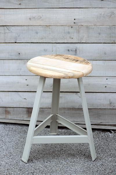 industrial stool grey #worthynzhomeware wwworthy.co.nz