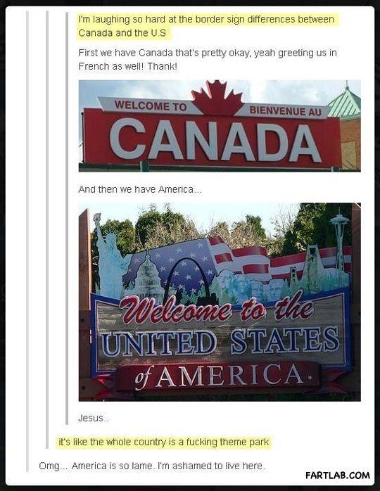 Canada vs. the U.S.