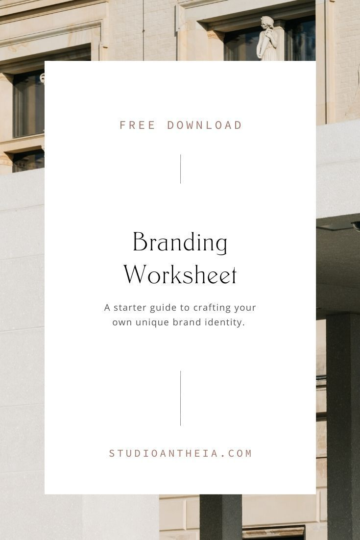 Free Branding Questionnaire Download Studio Antheia Branding Email Marketing Newsletter Email Marketing Design