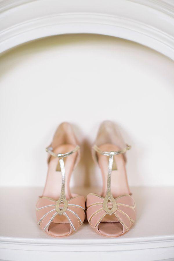 Wedding Rachel Simpson Peach T Bar Shoes http://hayleysavagephotography.co.uk/
