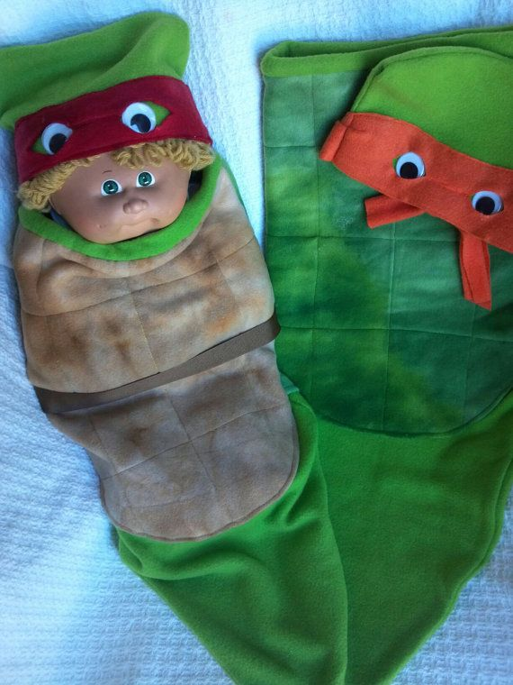 Infant Newborn Baby Costume Ninja Turtle Raf or by TerriLeeCNS, $28.00