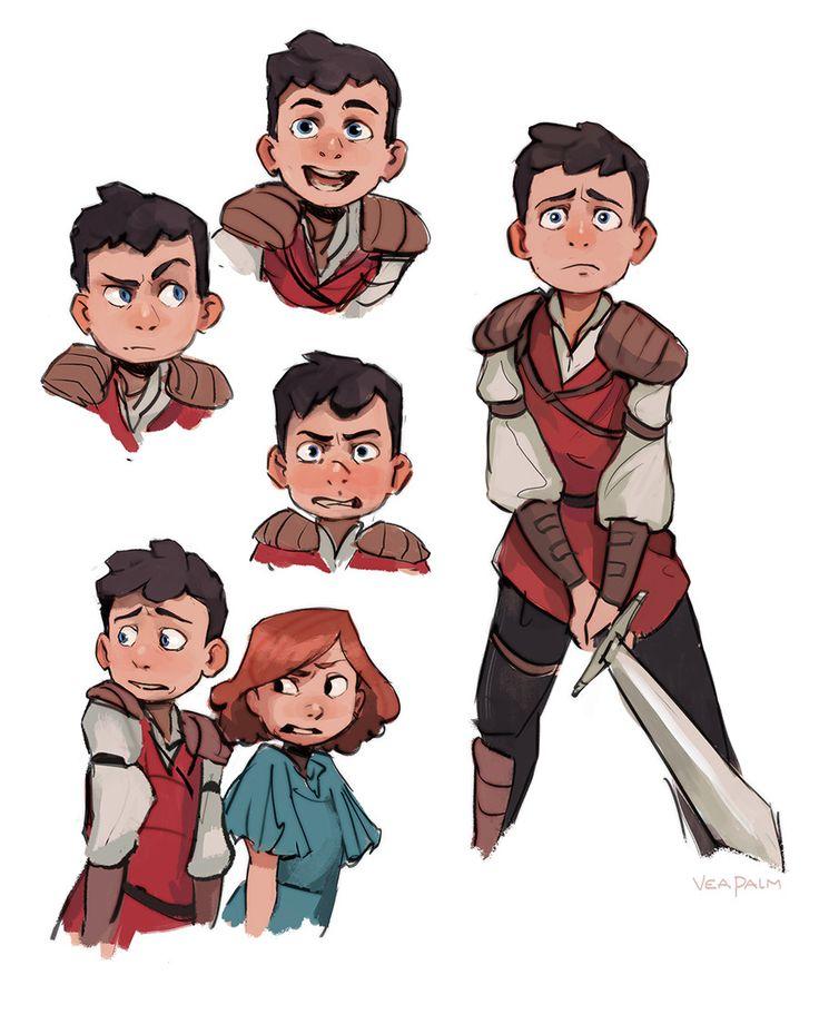 ArtStation - Animation Character Designs, Vanessa Palmer