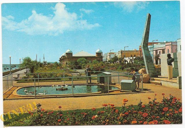 Resultado de imagem para fotos do jardim Patrão Joaquim LOpes em Olhão