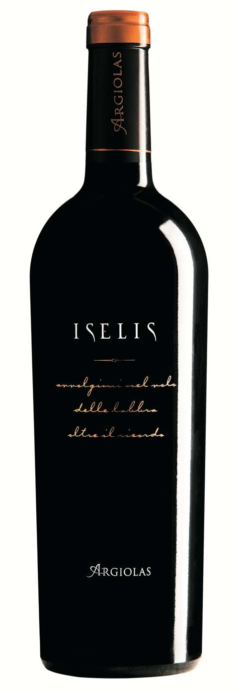 Iselis - Monica, with small percentages of Carignano and Bovale Sardo.  A perfect balance of  red berries and spices...