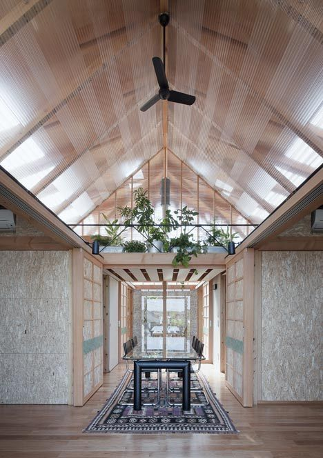 Outside (Outside) ((Outside)) House Within A House By A.a.+H