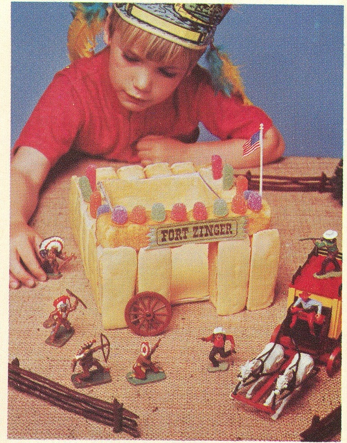 Vintage trade image of Dolly Madison snack cake uses by emeraldtoys, via Flickr