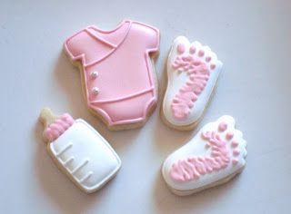SugarBliss Cookies: SugarBliss Baby Girl