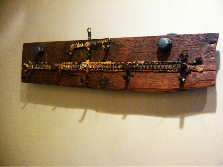 Reclaimed Barn Board Coat Rack - by Forever Interiors