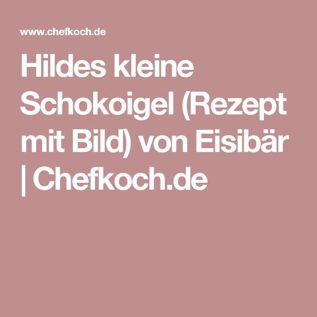 Hildes kleine Schokoigel (Rezept mit Bild) von Eisibär | Chefkoch.de