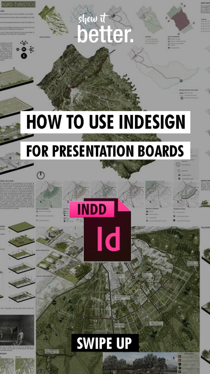 Learn how to use indesign for your presentation boards here! – Ma Frie