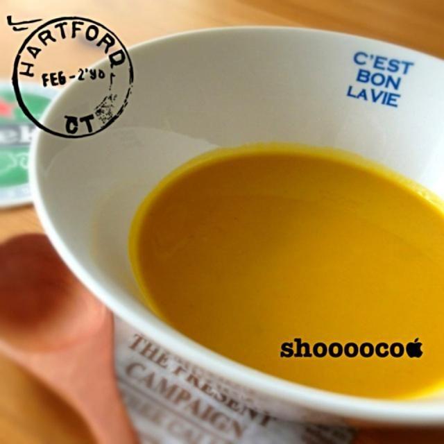 玉ねぎではなく長ネギとかぼちゃで( ゚Д゚) - 90件のもぐもぐ - かぼちゃの冷製スープ by shooooco1