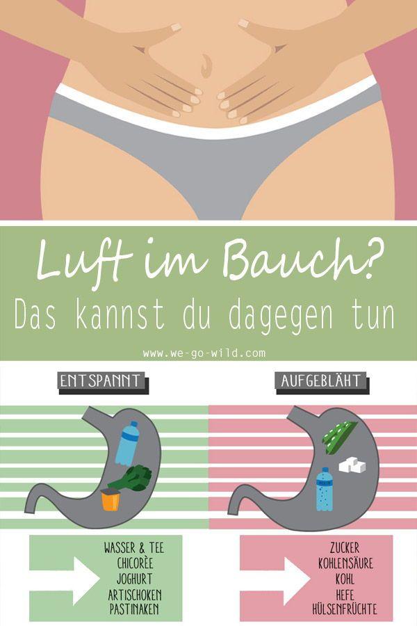 Tschüss aufgeblähter Bauch: Das hilft gegen Luft im Bauch