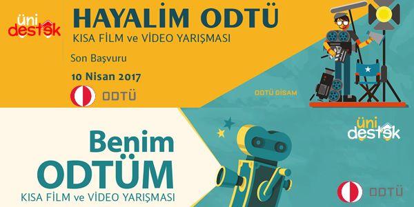 ODTÜ'den Lise ve Üniversite Öğrencileri için Ödüllü Kısa Film Yarışması – UniDestek