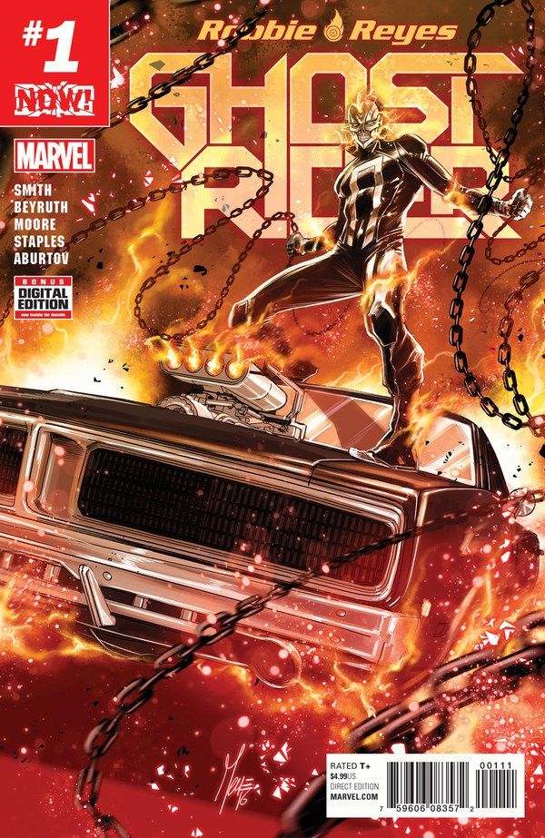 First Look At Ghost Rider #1