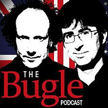 John Oliver and Andy Zaltzman make world news their bitch every week on The Bugle podcast.