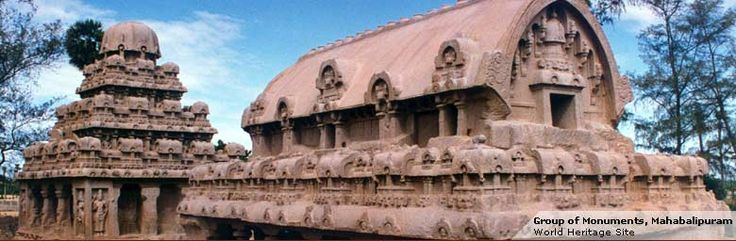 Cave Temples of Mahabalipuram, Tamil Nadu - Archaeological Survey of India