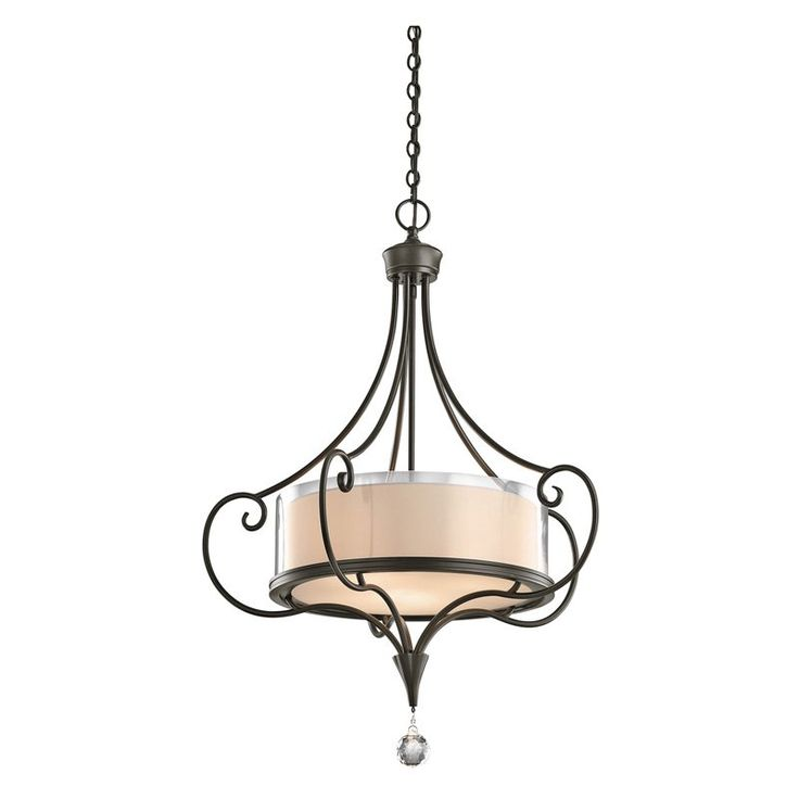 Kichler Lara 42864 Inverted Pendant - 24 in. - 42864SWZ