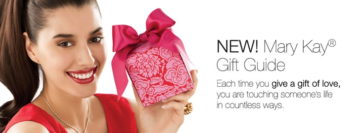 NEW! Mary Kay Gifts Guide. Each time you give a gift of love, you are touching someone's life in countless ways.