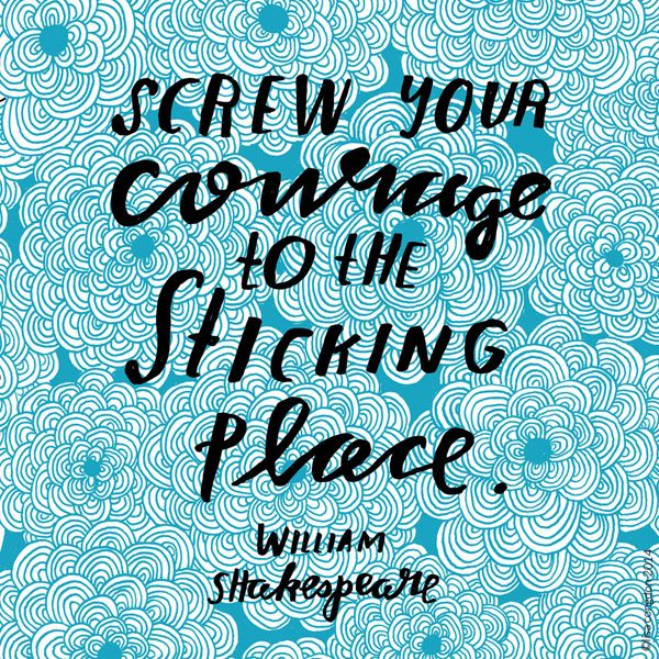 Shakespeare Quotes On Courage. QuotesGram