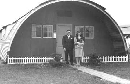 Military Surplus Quonset Huts For Sale >> Quonset hut home. Our family lived in Rodger Young Village in Griffith Park and Alondra Park ...