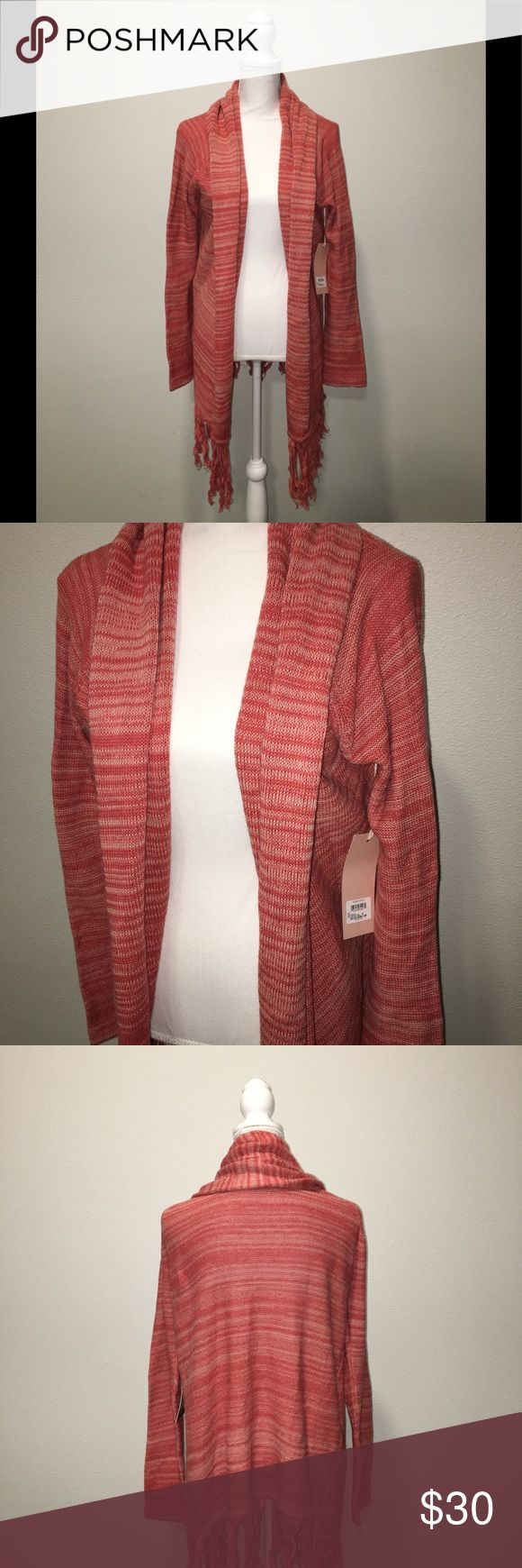 Sun & shadow open cardigan NWT Size M Sun & Shadow Sweaters Cardigans