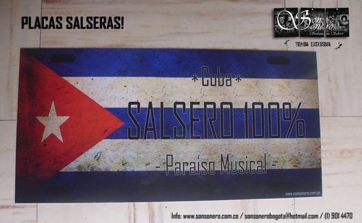 Foto: Placa Salsera - Cuba