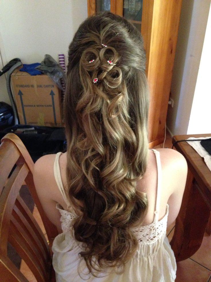 School Formal Hair by Suzie