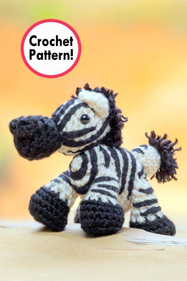 Crochet Pattern: Zebra amigurumi faux taxidermy trophy head ...   900x600