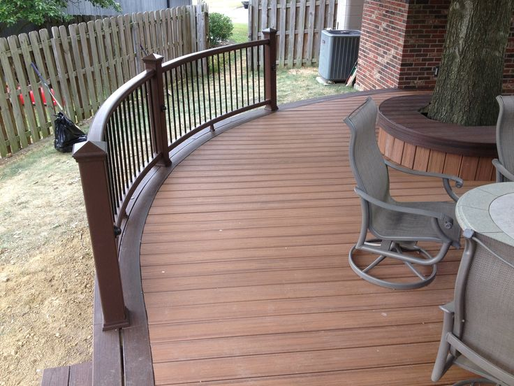 Trex Decking Colors >> Here is a great tiki torch Trex Deck with some great ...