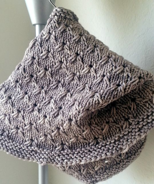 Love this stitch.  Ravelry: English Embroidery Cowl pattern by Ms Lena {free}