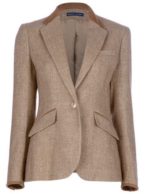 Veste tweed femme avec coudiere
