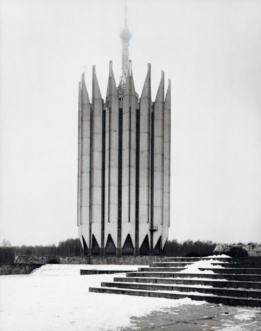 Soviet Brutalist building, 1970-1990, by Frédéric Chaubin looks like Liverpool Cathedral
