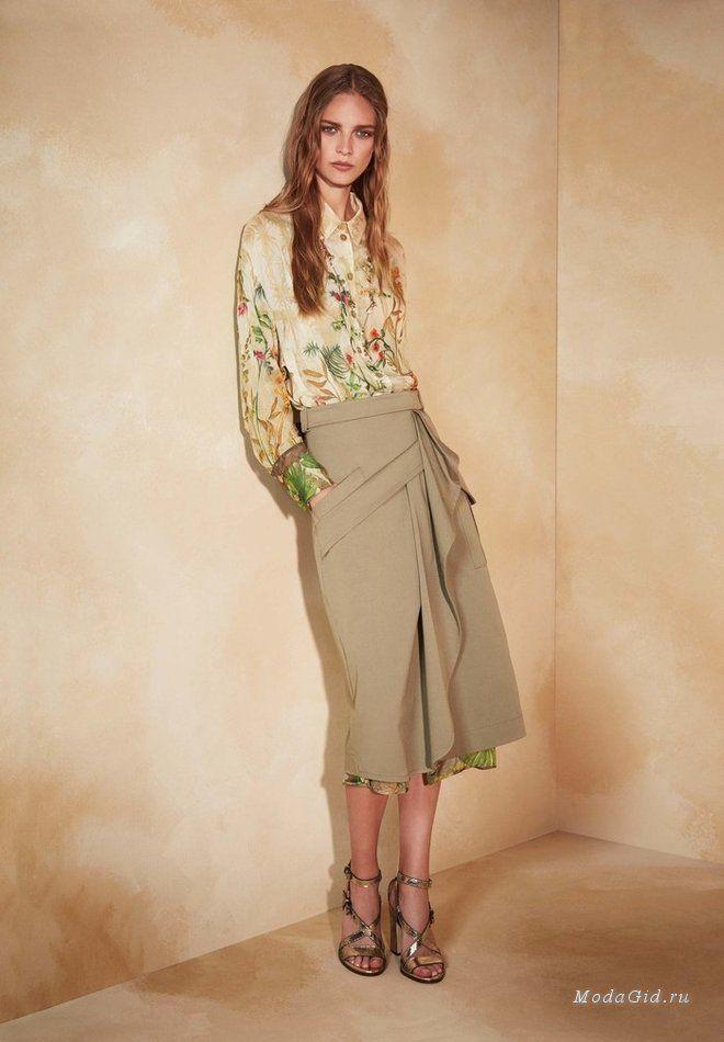 Женская мода: Alberta Ferretti, Resort 2018