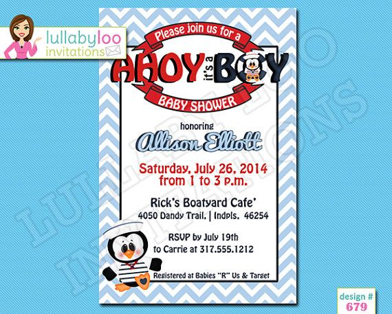 197 best baby shower invitations images on pinterest | invitations, Baby shower invitations
