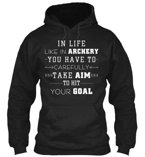 Archery Take Aim To Hit Your Goal