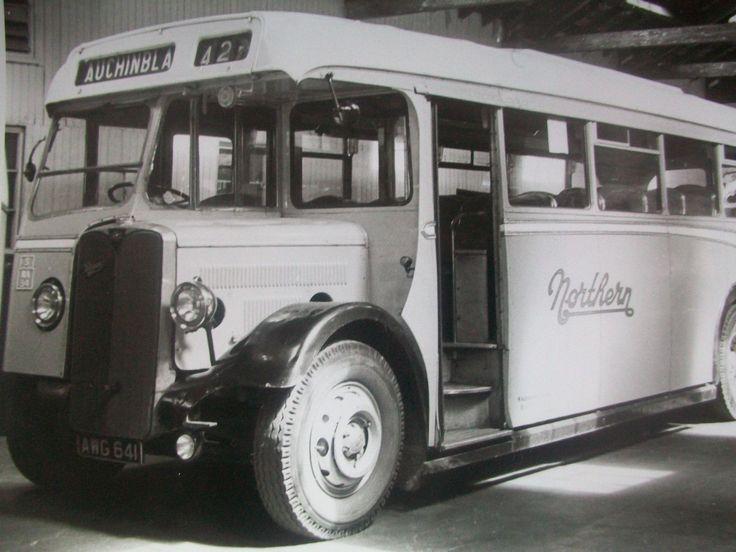 B & W Photograph Bus W Alexander & Sons NORTHERN Aberdeen Bus Station V   eBay