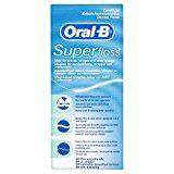 Oral-B SuperFloss Zahnseide 50 Fäden, 4er Pack (4 x 50 Fäden)
