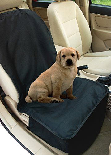 NAC&ZAC Deluxe Waterproof Bucket Pet Seat Cover for Cars and SUV with Seat Anchors Quilted Nonslip Entire Seat Protection Machine Washable Dog Seat Cover