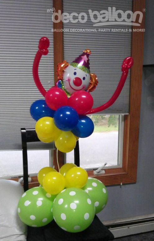 17 best images about clown decorations on pinterest aunt for Clown dekoration