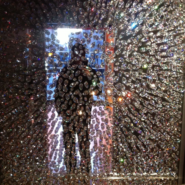 Elevator mirror, Swarovski, Old Town Square,Prague
